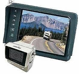 """Asa Electronics (Aos701) 7"""" Rear Lcd Observation System With Camera"""
