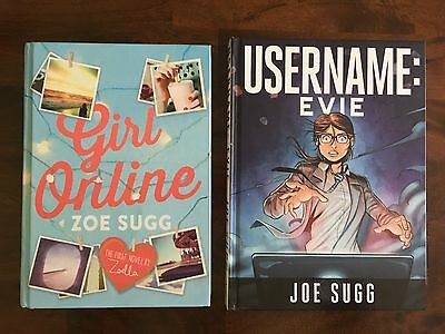 2x harback bundle: Username: Evie by Joe Sugg & Girl Online by Zoe Sugg