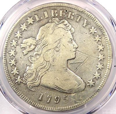 1795 Draped Bust Silver Dollar ($1 Coin, Small Eagle) - PCGS Fine Details!
