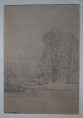 Original pencil sketch by Rowland Hilder - quite scarce