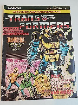 Transformers g1 Marvel Comic Issue #3
