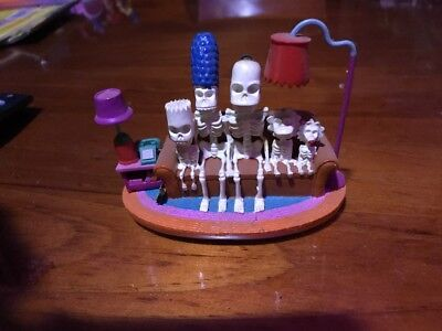 Simpsons Sculpture - Couch Gags - Couch Skeleton - Limited Edition Figure 2004