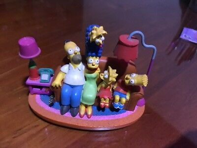 Simpsons Sculpture - Couch Gags - Couch Classic - Ltd Edition Figure 2004