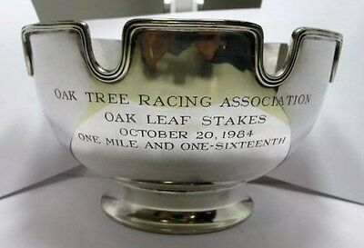 Tiffany and Co Sterling  Monteith Bowl Racing Trophy