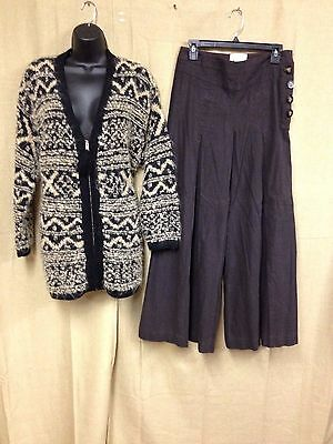 Lot Of 2 ~~~Jones Ny Womens Thick Sweater Size Small Elevenses Pants 4 X 30   #