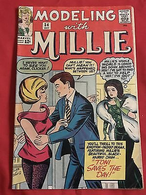 Modeling with Millie #34 Marvel Comics GD