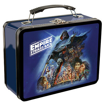 STAR WARS EMPIRE STRIKES BACK Large Tin Tote / Metal Lunch Box