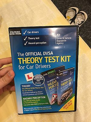 The Official DVSA Complete Theory Test Kit (Includes Hazard Perception) 2 DVDs