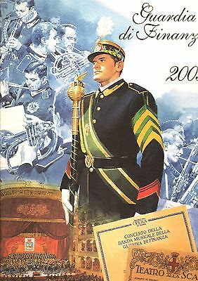 CALENDARIO GUARDIA DI FINANZA 2003 con Busta Originale