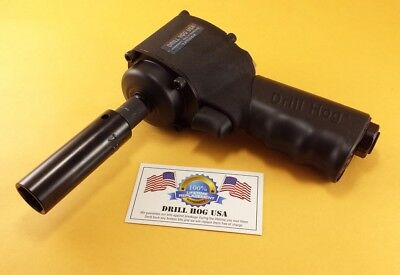3/8 Air Impact Wrench Micro Mini X7 700 FT LB Lifetime Warranty Drill Hog USA