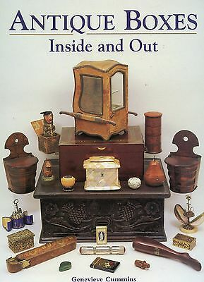 Antique Box Types - 2,000+ Items Pictured Identified / In-Depth Illustrated Book