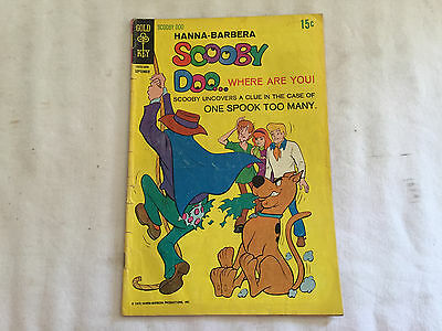 Vintage GOLD KEY COMICS Comic Book 1970 SCOOBY DOO... Where are you #3
