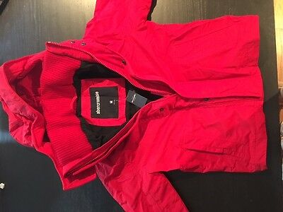 Abercrombie Jacket Boys M NEW RED