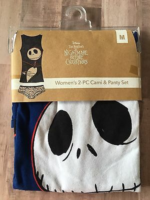 Disney The Nightmare Before Christmas Women's 2-PC Cami & Panty Set Size M New