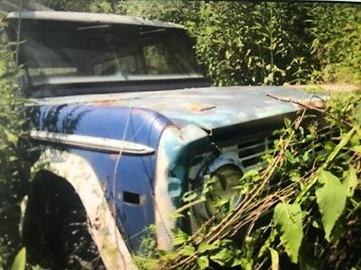 1970 Ford Bronco  1970 Ford Bronco First Gen