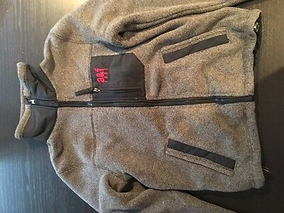 Abercrombie Fleece Jacket S Boys grey NEW