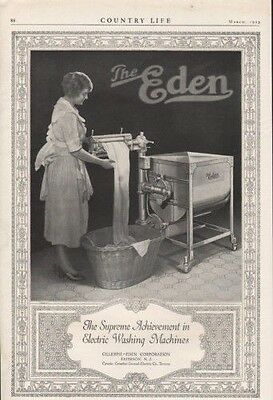 1923 Eden Washing Machine Paterson Laundry Dress Maid 9650