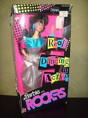 Rand New Retro Vintage Barbie Doll Rockers Dana Doll Real Dancing Action