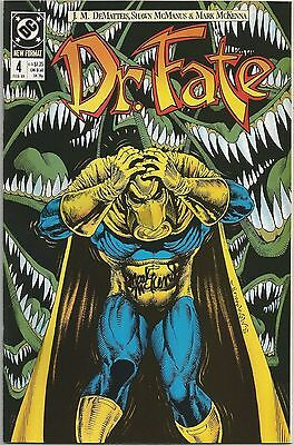 DOCTOR FATE 4 SIGNED BY MARK MCKENNA DC COMICS Eric Strauss & Linda