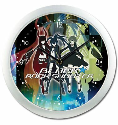 Wall Clock - Black Rock Shooter - 3 Girls New Toys Anime Licensed ge19067