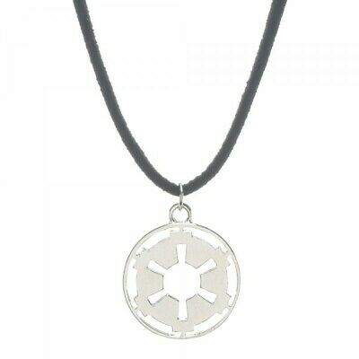 Necklace - Star Wars - Galactic Empire Cutout on Suede Cord Licensed fj233pstw
