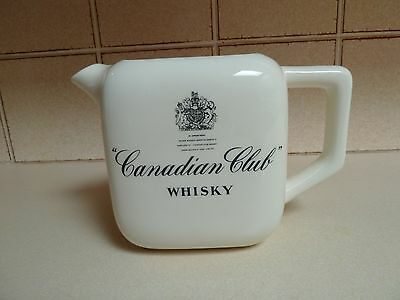 Canadian Club Whisky  Water  Jug