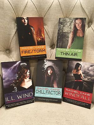 Ill Wind | Windfall | Firestorm | Chill Factor | Thin Air - Rachel Caine