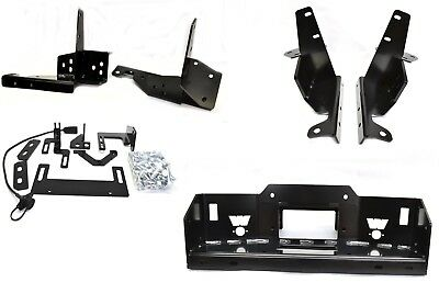 Warn 84515 Warn 84515 Hidden Winch Kit - For Use with 16.5ti; M15 and M12 Winche