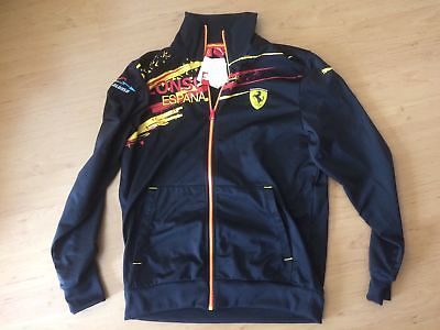 F1 jacket Fernando alonso puma nwt size medium adults