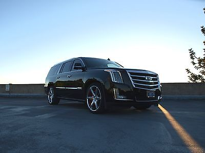 2016 Cadillac Escalade Twin Turbo Intercooled with Methanol Injection 2016 Cadillac Escalade ESV Twin Turbo