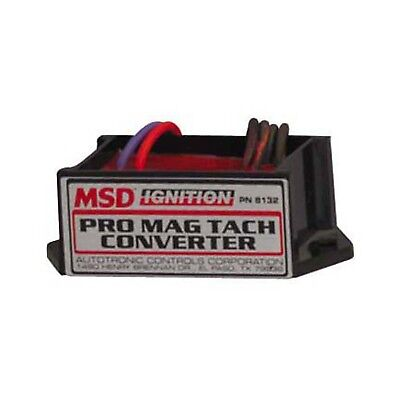 MSD 8132 MSD Ignition 8132 Magneto Tachometer Converter - Converts The Tachomete