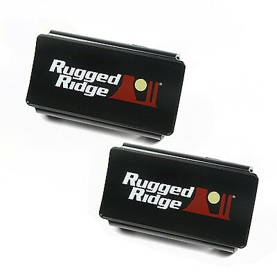 Rugged Ridge 15210.47 Rugged Ridge 15210.47 LED Light Cover - For Use With 13-1/