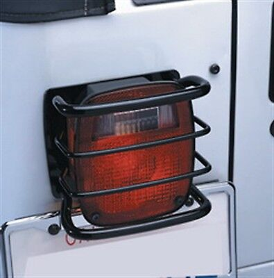 Smittybilt 8660 Smittybilt 8660 Euro Taillight Guard - Euro Style; Powder Coated