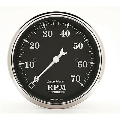 AutoMeter 1798 Old Tyme Black Electric Tachometer