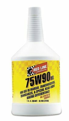 Red Line Oil 58304 75W90NS GL-5 GEAR OIL - 12/1QUART S100 Total Cycle Cleaner pe