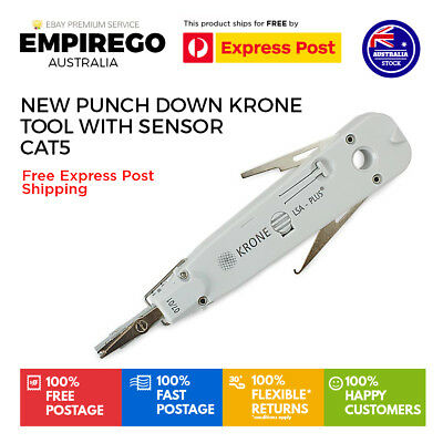 New Punch Down Krone Tool with Sensor CAT5  | Aus Stock | Free Express Shipping