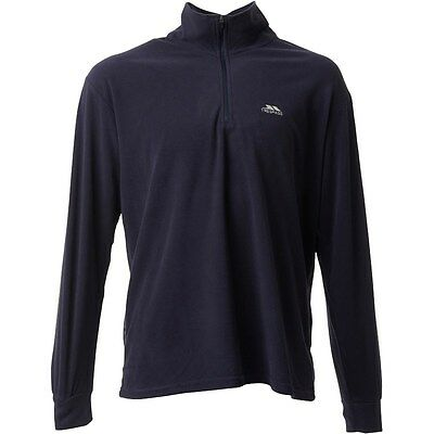 "Trespass Mens Masonville 1/2 Zip Fleece Navy (Large Chest 41-43"")"