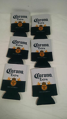 Rare Mexican Corona Beer Cerveza Bottle Can Cooler Sleeve 6 Pack Lof 6