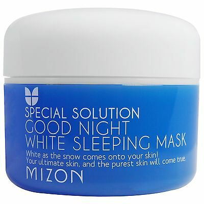 Mizon, Solución especial, mascarilla para dormir blanca Good Night 80 ml