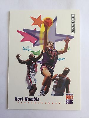 1991 SkyBox NBA Properties Basketball Card - Phoenix Suns #230 Kurt Rambis