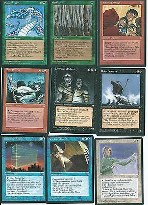 Magic the Gathering Ice Age mixed common lot 4