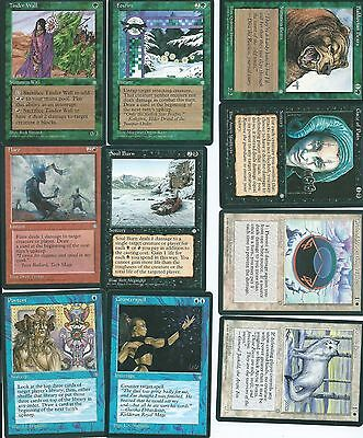 Magic the Gathering Ice Age mixed common lot 9