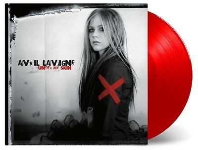 Avril Lavigne - Under My Skin LP RED Vinyl Limited Numbered 2500 copies NEW!