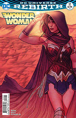 Wonder Woman #12 - First Print - Variant Cover - New/Unread - DC Rebirth