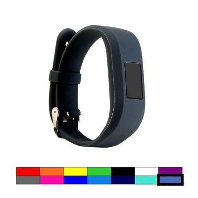 (ROYAL SLATE) - For Garmin Vivofit 3 and Vivofit JR, Dunfire Colourful