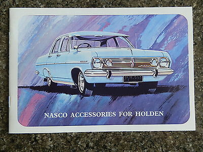 1966  Hr Holden Accessories  Brochure   100% Guarantee