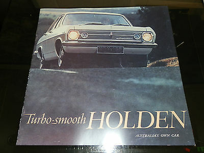 1966 Hr Holden Brochure Plus Bonus 186S Brochure 100% Guarantee.
