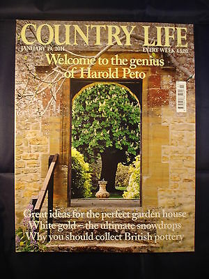 Country Life - january 19, 2011 - Snowdrops - Peto - perfect garden house