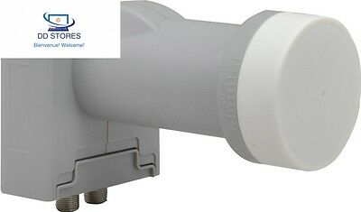 SKT sbc22–50 LNB Twin Pour installations 2 sorties Satellite