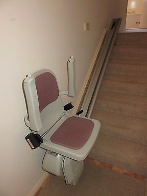 Acorn Superglide 120 Straight Stairlift - Internal